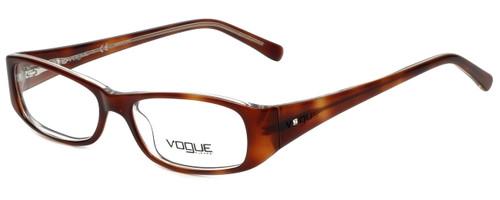 Vogue Designer Eyeglasses VO2546B-1471 in Brown 49mm :: Progressive
