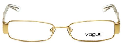 Vogue Designer Eyeglasses VO3618-280 in Gold 52mm :: Custom Left & Right Lens