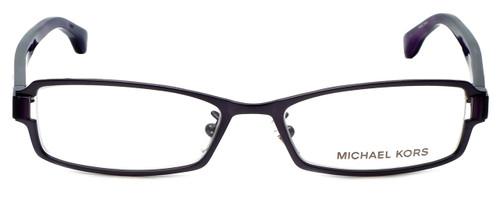 39637c58b5ca Michael Kors Designer Eyeglasses MK313-506 in Plum 52mm :: Custom Left &  Right