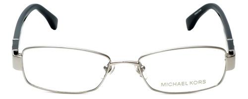 4a1ae3b77d10 Michael Kors Designer Eyeglasses MK338-045-48 in Silver Black 48mm :: Custom