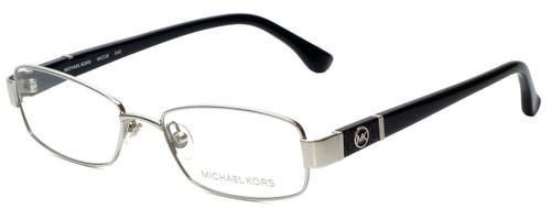Michael Kors Designer Reading Glasses MK338-045-48 in Silver Black 48mm