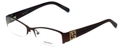 Vera Wang Designer Reading Glasses V056 in Brown 53mm