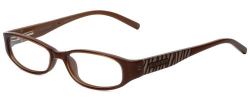 Michael Kors Designer Reading Glasses MK658-210 in Brown 50mm