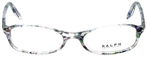 Ralph Lauren Designer Eyeglasses RA7045-1140 in Violet Flowers 49mm :: Progressive