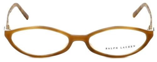Ralph Lauren Designer Eyeglasses RL6011-5041 in Brown Ivory 51mm :: Progressive