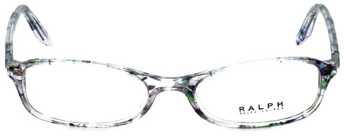 Ralph Lauren Designer Reading Glasses RA7045-1140 in Violet Flowers 49mm