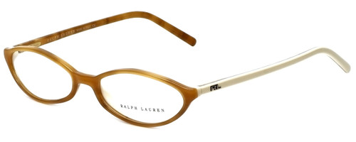 Ralph Lauren Designer Reading Glasses RL6011-5041 in Brown Ivory 51mm
