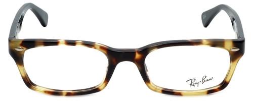 Ray-Ban Designer Eyeglasses RB5150-5608 in Tortoise Black  50mm :: Rx Single Vision