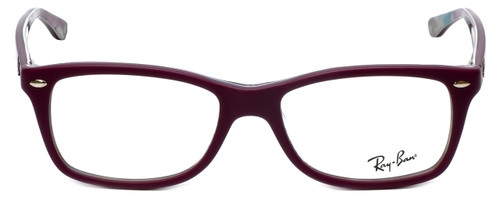 Ray-Ban Designer Eyeglasses RB5228-5408 in Matte Purple 53mm :: Rx Single Vision