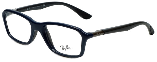 cd521564775 Ray-Ban Designer Eyeglasses RB8952-5606 in Blue Grey 53mm    Custom Left    Right Lens
