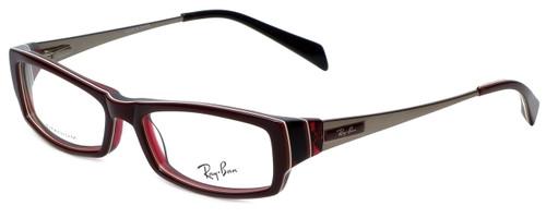 c9df6c0a8373 Ray-Ban Designer Eyeglasses RB5136-2286 in Burgundy 51mm    Progressive