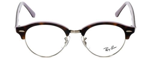 Ray-Ban Designer Eyeglasses RB4246V-5240 in Havana Lavender 47mm :: Rx Bi-Focal