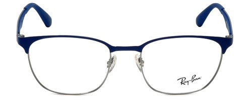 Ray-Ban Designer Reading Glasses RB6356-2876-50 in Silver Blue 50mm