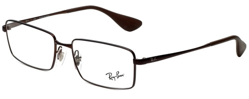 e69923fd84 Ray-Ban Designer Eyeglasses RB6337M-2758 in Brown 53mm    Progressive
