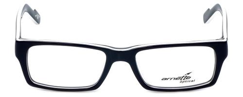 Arnette Designer Eyeglasses 7039-1097 in Dark Blue White 49mm :: Custom Left & Right Lens