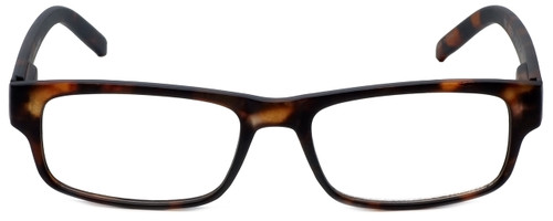 M Readers Designer Reading Glasses 100-MDEMI in Matte Tortoise 52mm