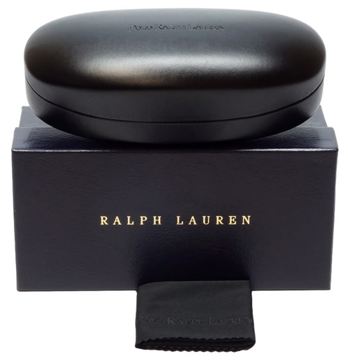 022b43c42aab Ralph Lauren Authentic Sunglass Case in Black with Box - Speert ...
