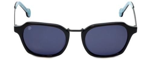 Jonathan Adler Designer Sunglasses Havana in Black