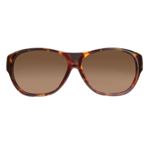 Jonathan Paul® Fitovers Eyewear Extra Large Allure in Tortoise & Amber AU002A