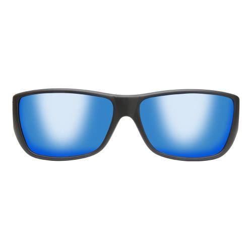 9dae24047506 Jonathan Paul® Fitovers Eyewear Large Traveler in Satin Black   Blue Mirror  TL001BM