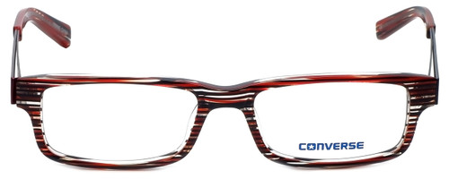 Converse Designer Eyeglasses City-Limits-Red-Stripe in Red Stripe 51mm :: Custom Left & Right Lens