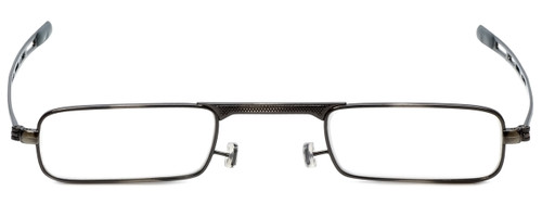 Slender Eyes Metal Reading Glasses w/ Case