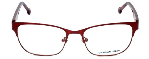 Jonathan Adler Designer Eyeglasses JA102-Red in Red 55mm :: Rx Single Vision