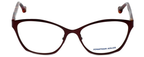 Jonathan Adler Designer Eyeglasses JA103-Bur in Burgundy 53mm :: Rx Single Vision