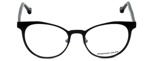Jonathan Adler Designer Eyeglasses JA105-Black in Black 51mm :: Rx Single Vision