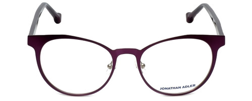 Jonathan Adler Designer Eyeglasses JA105-Purple in Purple 51mm :: Progressive