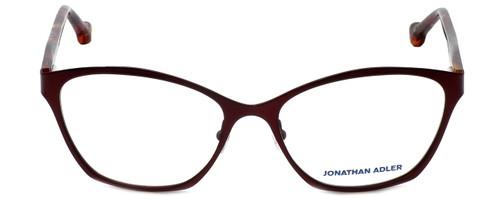 Jonathan Adler Designer Eyeglasses JA103-Bur in Burgundy 53mm :: Rx Bi-Focal