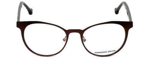 Jonathan Adler Designer Eyeglasses JA105-Brown in Brown 51mm :: Rx Bi-Focal