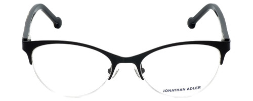 Jonathan Adler Designer Reading Glasses JA503-Black in Black 53mm