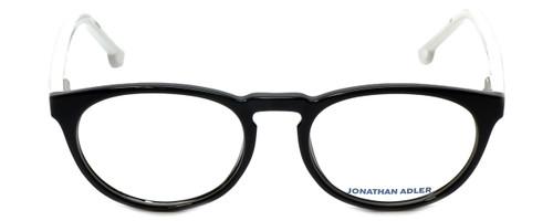 Jonathan Adler Designer Eyeglasses JA306-Black in Black 51mm :: Custom Left & Right Lens