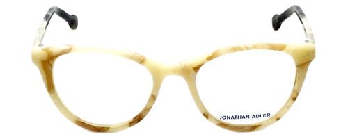 Jonathan Adler Designer Eyeglasses JA307-Bone in Bone 51mm :: Progressive