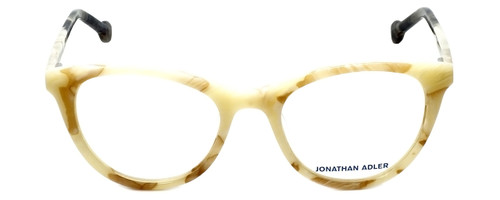 Jonathan Adler Designer Reading Glasses JA307-Bone in Bone 51mm