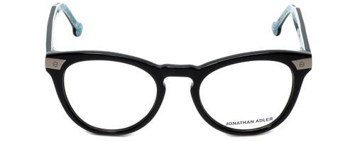 Jonathan Adler Designer Reading Glasses JA308-Black in Black 50mm