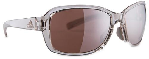 Adidas Designer Sunglasses Baboa in Vapor Grey Shiny & LST Active Silver Lens