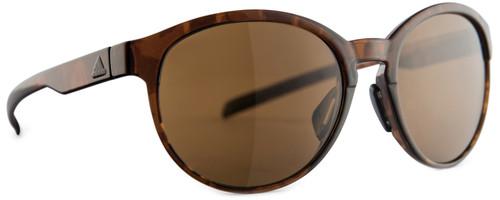 Adidas Designer Sunglasses Beyonder in Brown Havana & Brown Lens