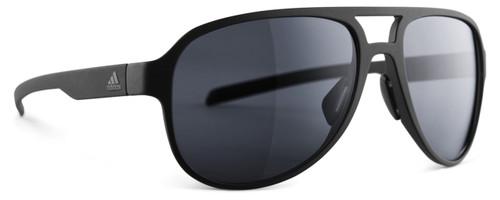 Adidas Designer Polarized Sunglasses Pacyr in Matte Black & Grey Lens