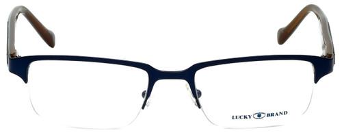 Lucky Brand Designer Eyeglasses Cruiser-Blue in Blue and Brown 51mm :: Custom Left & Right Lens
