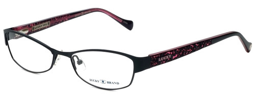 Lucky Brand Designer Reading Glasses Delilah-BLK in Black 52mm