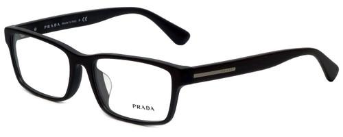 Prada Designer Reading Glasses VPR01S-TV61O1 in Brushed Brown 56mm