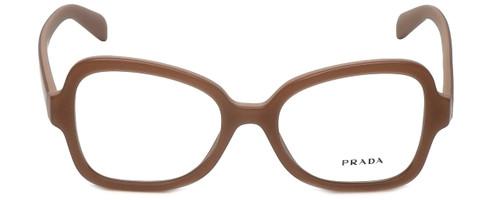 Prada Designer Eyeglasses VPR25S-UFF1O1 in Matte Pink 51mm :: Custom Left & Right Lens