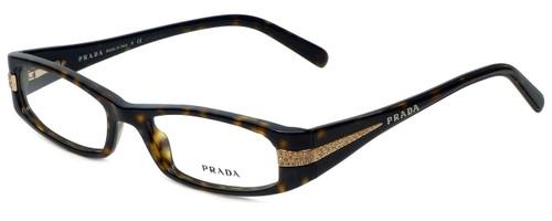 708e877a008 Prada Designer Eyeglasses VPR18I-2AU1O1 in Havana 52mm    Rx Single Vision