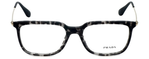Prada Designer Reading Glasses VPR17T-VH31O1-55 in Grey Havana 55mm