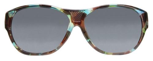 04da258ec3e7c Jonathan Paul® Fitovers Eyewear Extra Large Allure in Turquoise Demi   Gray  AU003