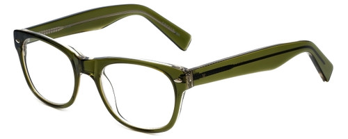 Eyefly Designer Eyeglasses Mensah-Jomo-Street in Olive 50mm :: Rx Single Vision