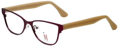 Isaac Mizrahi Designer Reading Glasses M106-07 in Purple 52mm