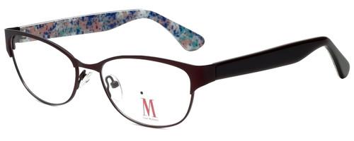 Isaac Mizrahi Designer Reading Glasses M109-02 in Brown 52mm